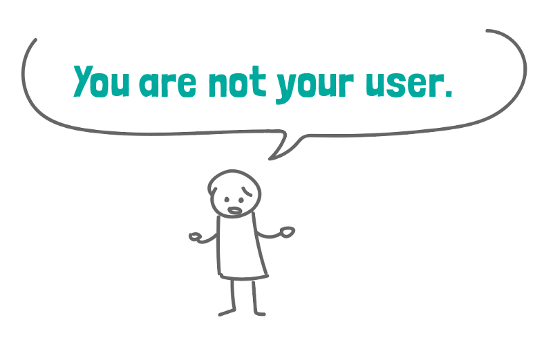 Image result for you are not your user